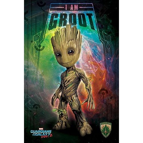 Plakát Guardians of the Galaxy 2 - Groot