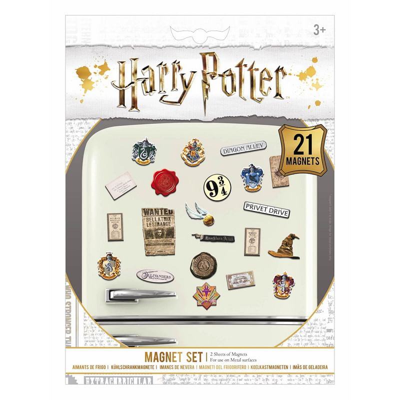 Sada magnetek Harry Potter 21ks