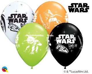 Balonky Star Wars 6ks