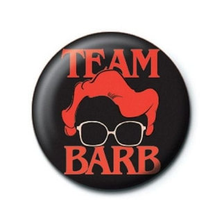 Odznak Stranger things - Team Barb