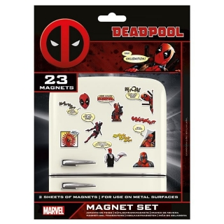 Sada magnetek Marvel - Deadpool 23ks