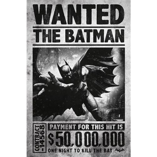 Plakát Batman - Wanted