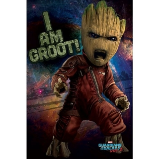 Plakát Guardians of the Galaxy - Angry Groot